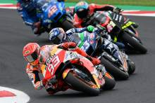 Marquez: Misano fourth 'means more' than Aragon but victory 'far away'