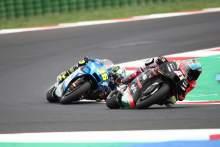 Aleix Espargaro Joan Mir MotoGP race, San Marino MotoGP 19 September 2021