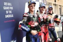 Fabio Quartararo , Francesco Bagnaia Marc Marquez, MotoGP, Grand Prix Of The Americas, 2 Octobber 2021