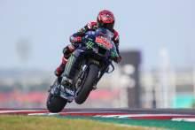 Fabio Quartararo, MotoGP, Grand Prix of the Americas, 3 October 2021.