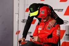 Valentino Rossi, Francesco Bagnaia, MotoGP, Emilia-Romagna MotoGP 21 October 2021