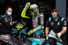 Valentino Rossi, Emilia-Romagna MotoGP, 23 October 2021