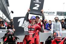 Francesco Bagnaia, Jack Miller, Emilia-Romagna MotoGP, 23 October 2021