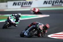 Fabio Quartararo , MotoGP race, Emilia-Romagna MotoGP. 24 October 2021