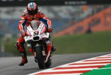 Petrucci prepared to park new Ducati fairing