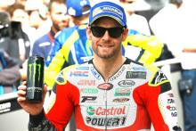 Costly mistake keeps Crutchlow off pole; pace 'handy'