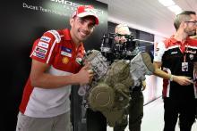 Pirro: V4 engine felt like Ducati GP15