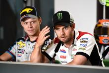 Crutchlow: Cutting Parmesan is a dangerous thing!