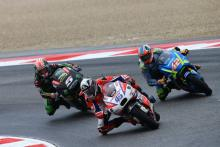 Redding 'salvages something respectable' in Misano rain