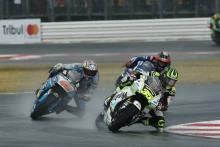Crutchlow: The rear aquaplaned, I just flew
