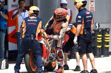 Marquez: 'It was a big save' - VIDEO