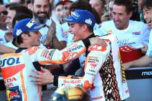 Pedrosa: Marquez one rider, still two others on podium…