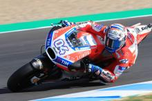 Dovizioso signs off 2017 with top time at Jerez