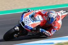 Jerez MotoGP test times - Wednesday (4pm)