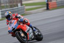 'Really fast' - Dovizioso ups the pace