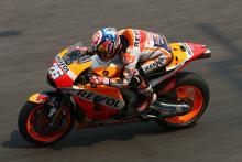 Thailand MotoGP test times - Combined