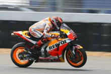 All eyes on engine for Marquez, Pedrosa