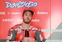 Dovizioso 'not feeling pressure, I feel comfortable'