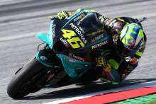 Valentino Rossi,奥地利MotoGP,2021年8月13日