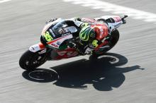 Crutchlow second, 'feeling quite confident'