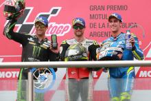 Crutchlow wins crazy Argentina GP - Marquez, Rossi clash!