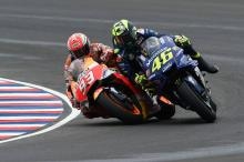 PICTURES and VIDEO: Marquez, Rossi clash in Argentina
