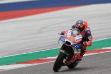 Miller 'jumping down back straight', roost breaks screen
