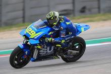 Iannone stays top as Pirro suffers nasty crash