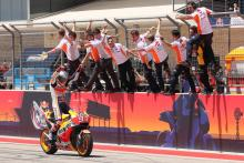 Perfect Marquez hits COTA for six!