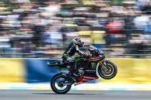 Zarco bolts to home round pole with lap record