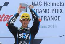 Moto2: Bagnaia blasts away for French win
