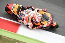 Marquez: Hardest front tyre too soft