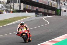 Marquez 12th but unflustered after tough day one
