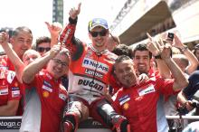 Lorenzo 'feeling great, better than Mugello'