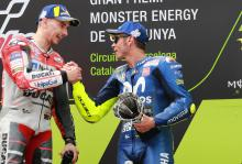 Lorenzo: Rossi could win on this Ducati