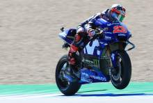 Vinales sets pace in FP2