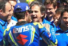 Rins 'absolutely' ready to lead Suzuki development