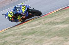 'Better day' for Rossi