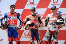 Marquez snatches pole off Petrucci