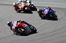 Dovizioso 'a bit worried by gap to Yamahas'