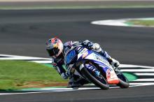 Moto3 Silverstone: Martin on pole, Bezzecchi falls in post-rain dash