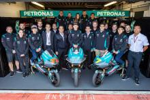 Morbidelli, Quartararo revealed in Petronas Yamaha presentation