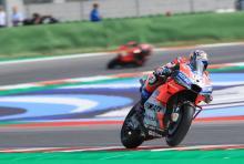 Dovizioso doubles up ahead of Lorenzo for Ducati 1-2