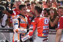 Dovizioso: Misano win part of 2019 strategy as Marquez 'too far'