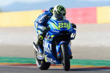 Aragon MotoGP - Warm-up Results