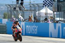 Title race 'not over yet' says Marquez