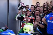 'On the limit' Espargaro matches Aprilia best