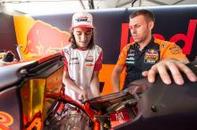 Can Oncu to make Moto3 history in Valencia