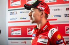 Wrist injury leaves Lorenzo 'worried'