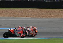 Marquez outwits Dovizioso for Thailand glory